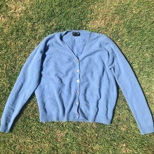 ✨5/$14 Sky Blue Cashmere Button Up Cardigan